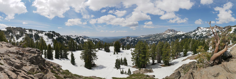 Overlook in Lassen National Park, CA