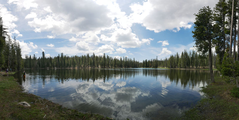 Summit Lake, Lassen Volcanic National Park, CA