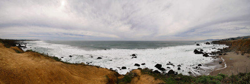 Coast in Sonoma County, CA